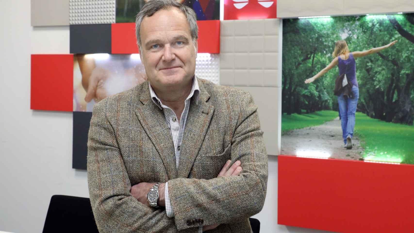 Ramiro Larragán, director de marketing de Huawei España