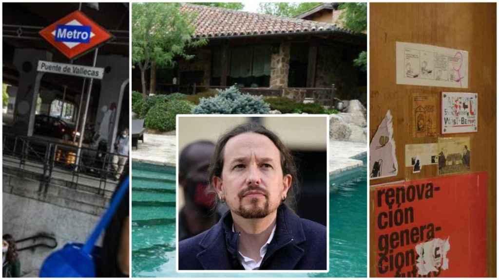 Pablo Iglesias sobre los tres lugares que más han marcado su trayectoria política.