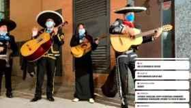 """Los mariachis que llamaron 'rata' a Iglesias cobraron 300€ y son """"falsos"""", según el gremio"""