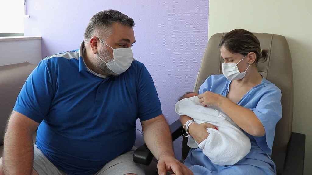 La familia se encuentra muy agradecida con el nacimiento del pequeño Marcus.