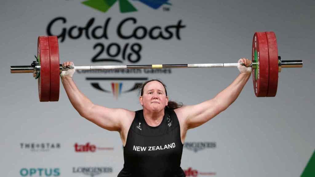 Laurel Hubbard,  halterófila neozelandesa de 43 años que podría ser la primera deportista transgénero de los Juegos Olímpicos