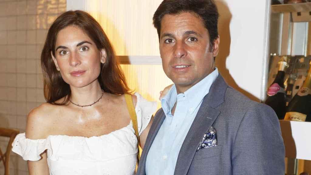 Fran junto a su mujer, Lourdes Montes, en una imagen de archivo.