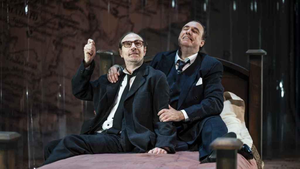 Los hermanos Machado en el Teatro Fernán Gómez.