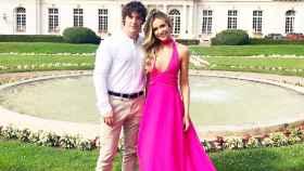 Jordi Cruz y Rebecca Lima, en la imagen con la que confirmaron su noviazgo.