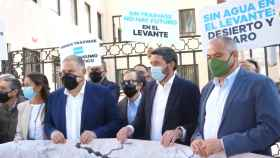 Concentración en la Delegación de Gobierno de Murcia.