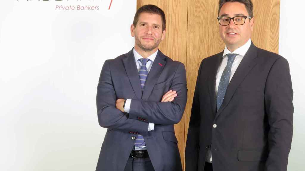 Vicente Cabanes y José Fenoll, Andbank España.