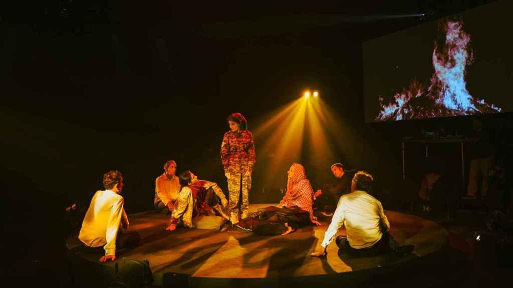 Los siete actores de 'Shock II'.