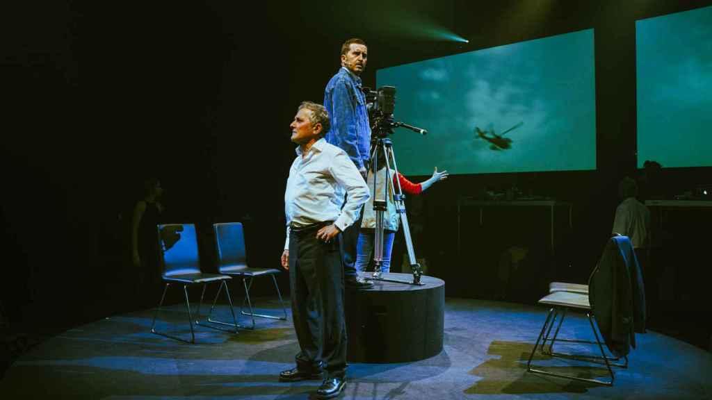 Juan Vinuesa como José Couso en 'Shock 2'.