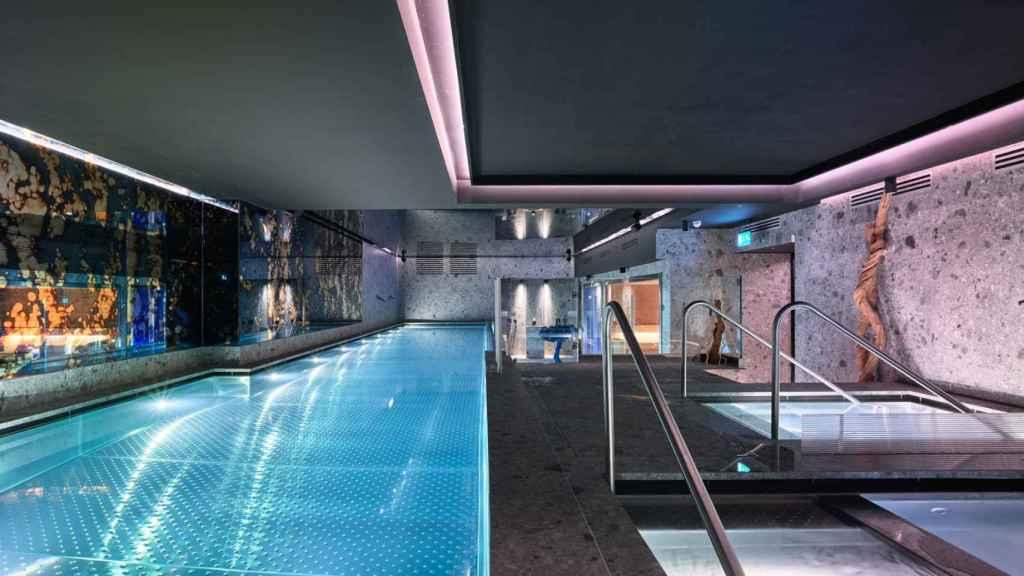 Spa de Le Max  Wellness Club Wellington.