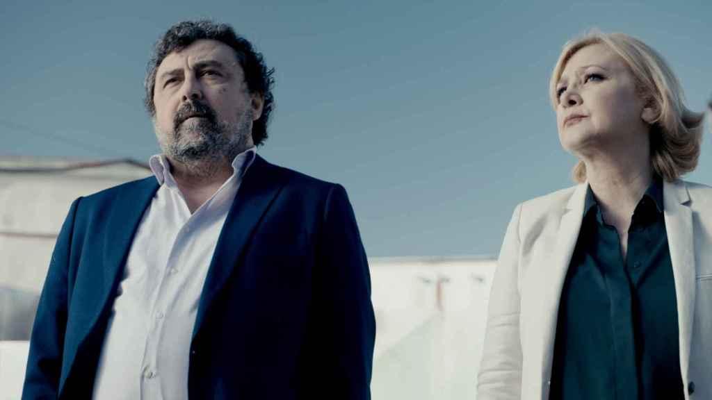 Paco Tous y Amparo Larrañaga, una pareja condenada a entenderse.