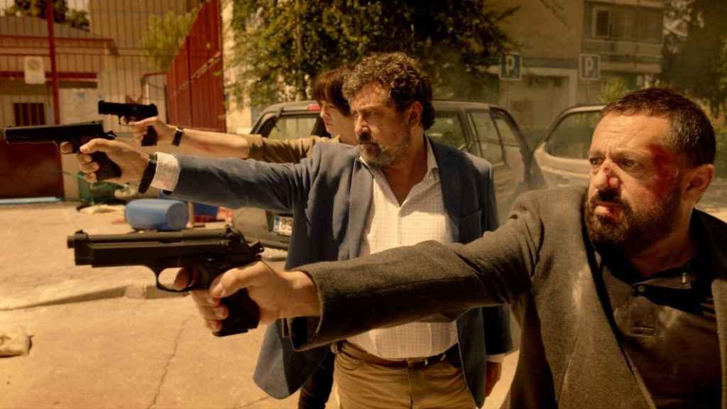 Los inseparables Paco Tous y Pepón Nieto en el regreso de 'Los hombres de Paco'.