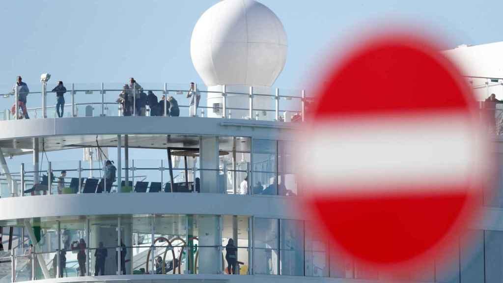 Pasajeros en un crucero, en imagen de archivo.