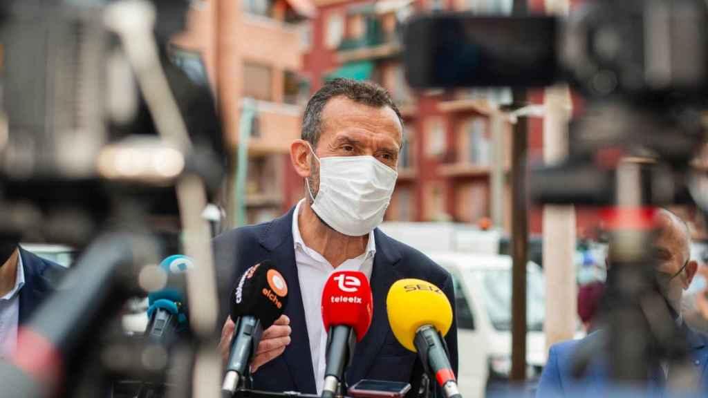 El alcalde de Elche, en una imagen reciente.