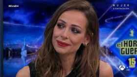 Eva González no ha podido contener la emoción en 'El Hormiguero'.