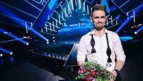 Uku Suviste, representante de Estonia en Eurovisión 2021, en la final del 'Eesti Laul'.