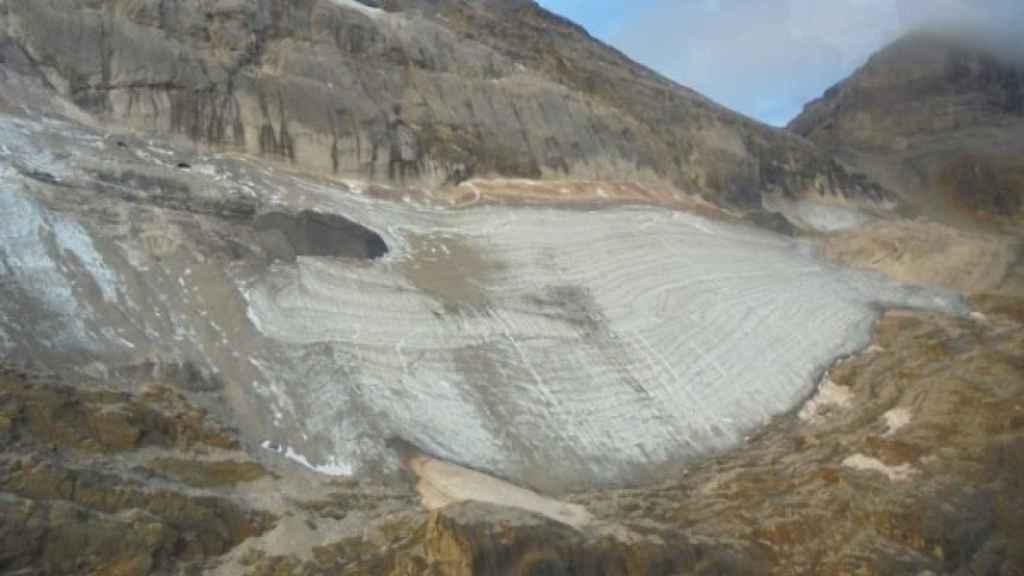 Glaciar de Monte Perdido.