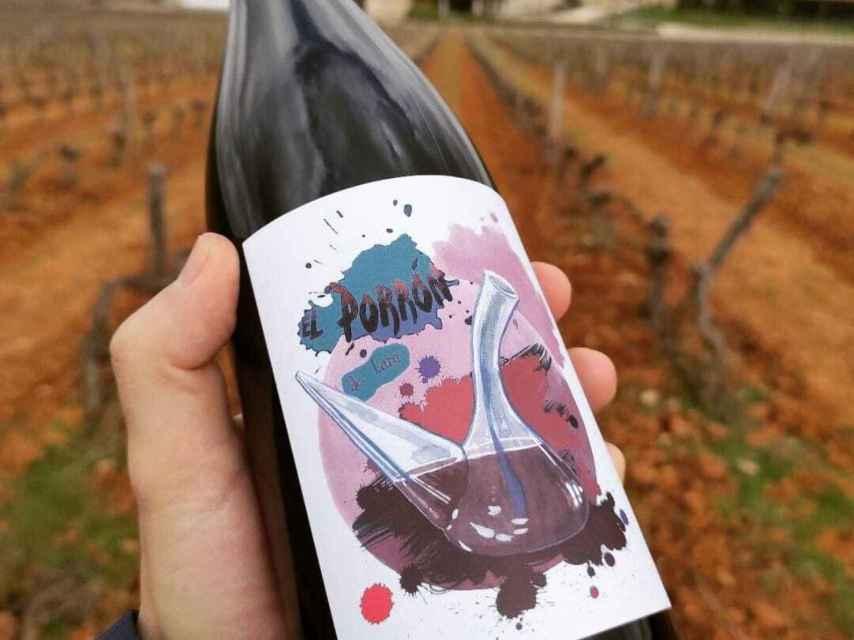 El Porrón de Lara, un vino natural y sin complejos.