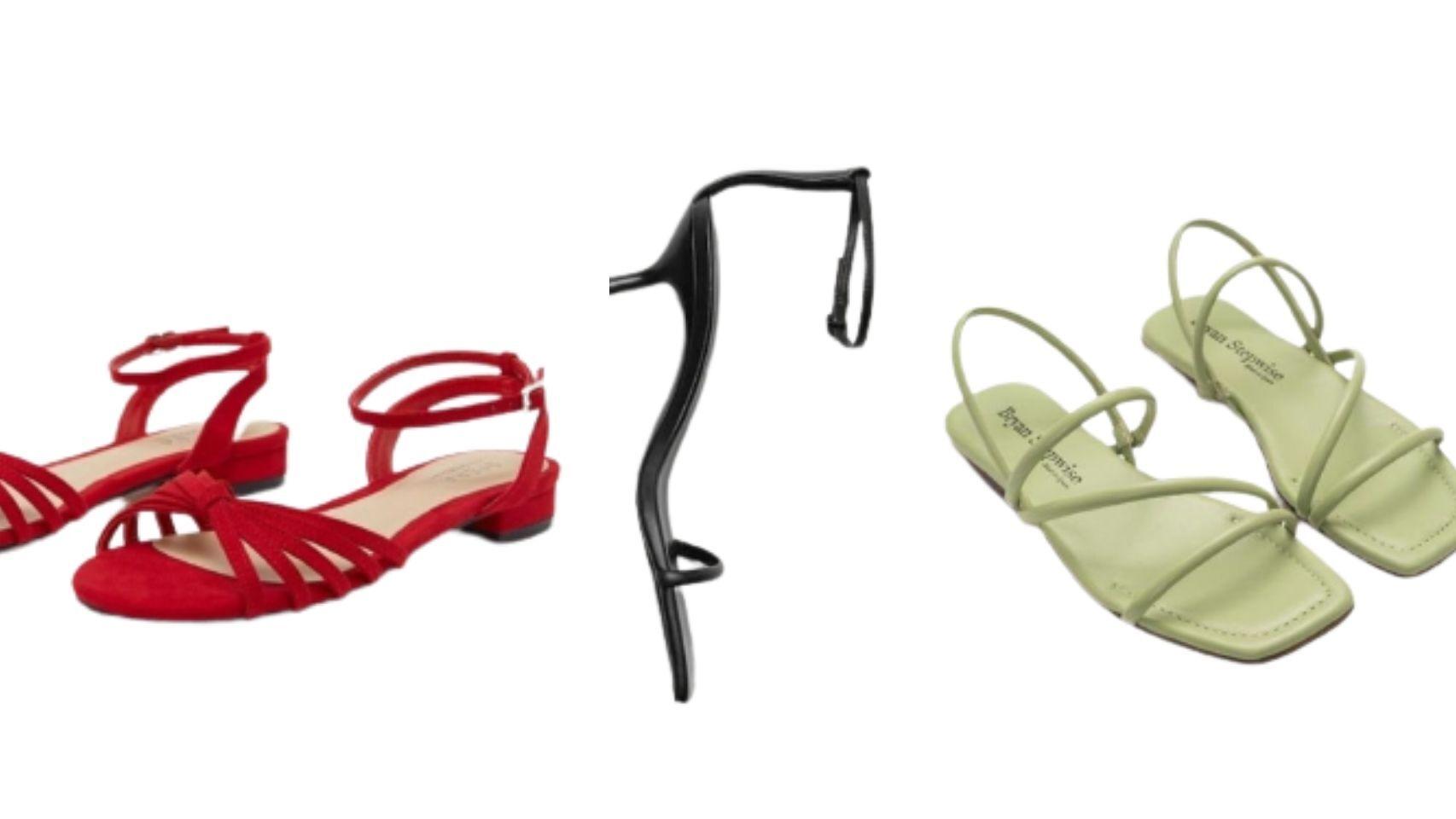Sandalias con tacón bajo: el zapato que no te cansarás de combinar.