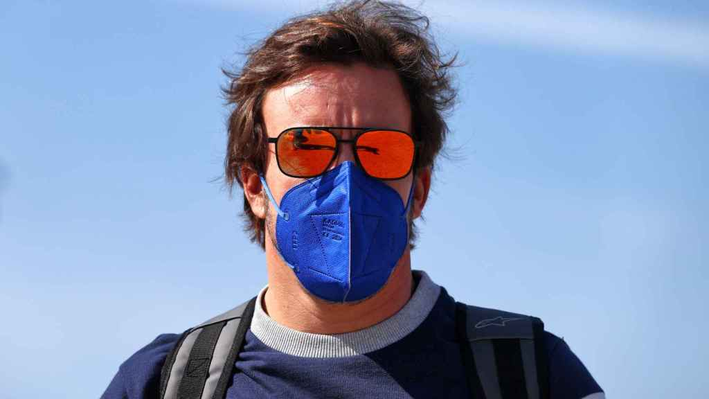 Fernando Alonso en el Gran Premio de España