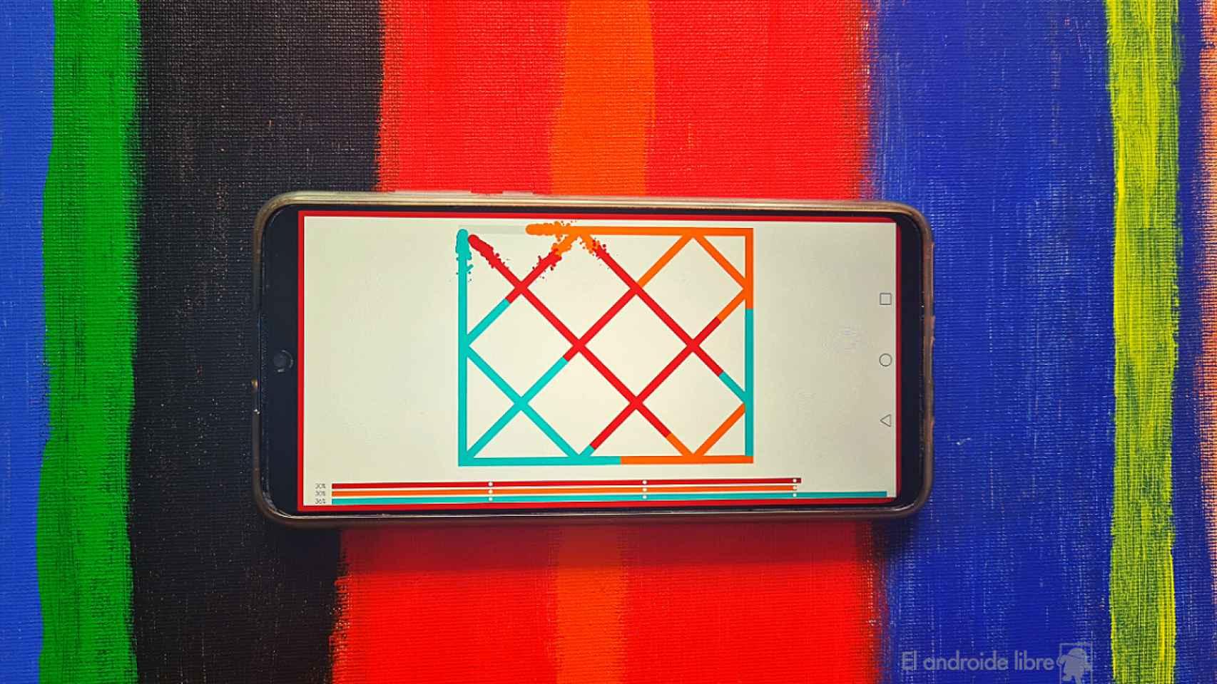 Líneas: un juego de puzzles muy relajante
