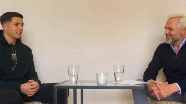 Lucas Cañizares y Santi Cañizares en su canal de YouTube