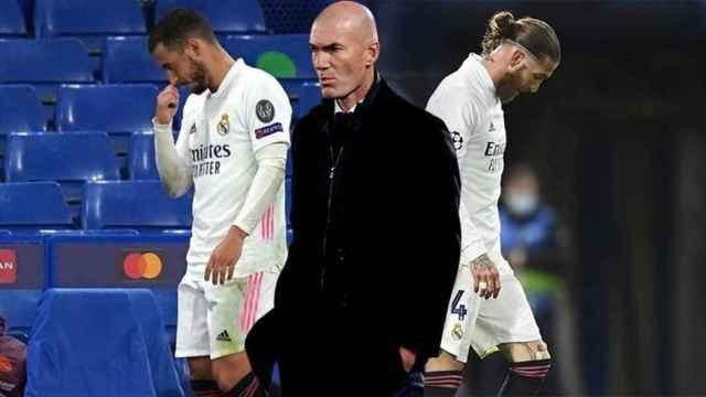 Hazard, Zidane y Sergio Ramos