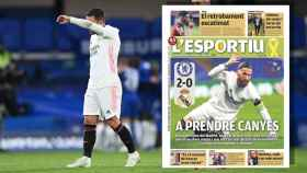 Hazard y la portada de L'Esportiu