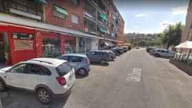 Calle Colombia, con el Casco Histórico de Toledo al fondo