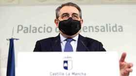 Jesús Fernández Sanz, consejero de Sanidad de Castilla-La Mancha (Ó. HUERTAS)