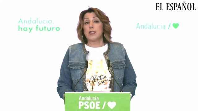 En libertad, sin imposiciones y con autonomía. Susana Díaz.
