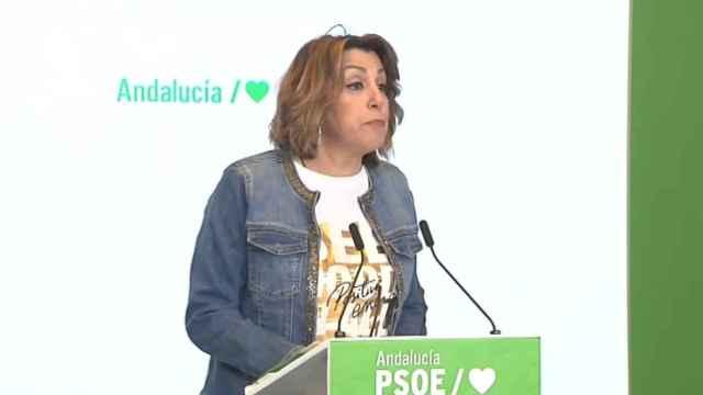 """Susana Díaz: """"Algo no estaremos haciendo bien cuando miles de ciudadanos nos han vuelto la espalda"""""""