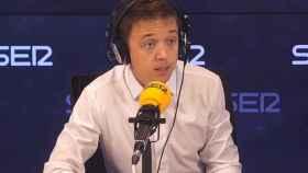 Íñigo Errejón, portavoz de Más País en el Congreso de los Diputados, en la Cadena SER.