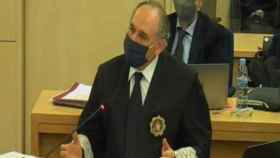 Antonio Romeral, este jueves durante la exposición de su informe final./