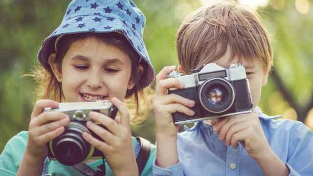 Cámaras de fotos para niños según su edad con las que desarrollar su ingenio