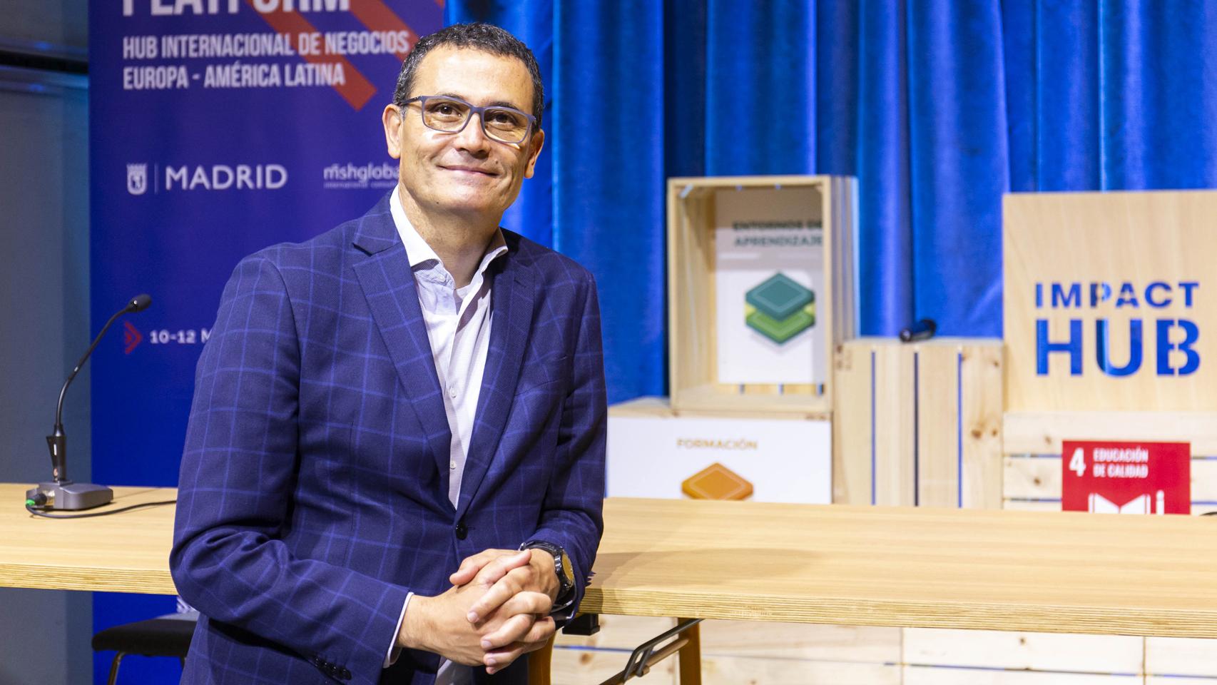 Carlos Morales director de Madrid Platform.