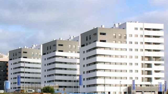 Imagen del residencial Hespérides (Sevilla) de Metrovacesa.