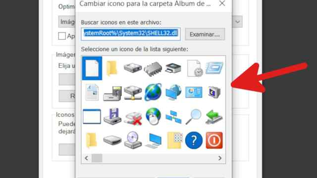 Iconos viejos en Windows 10