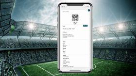 Entradas de fútbol con blockchain.