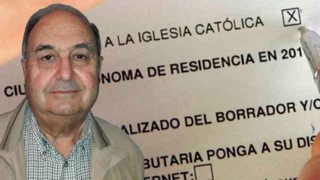 Rafael es uno de los contribuyentes de Ciudad Real que cedió sus impuestos a la Iglesia.