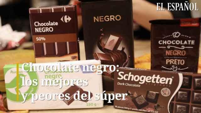 Chocolate negro, los mejores y peores del súper.