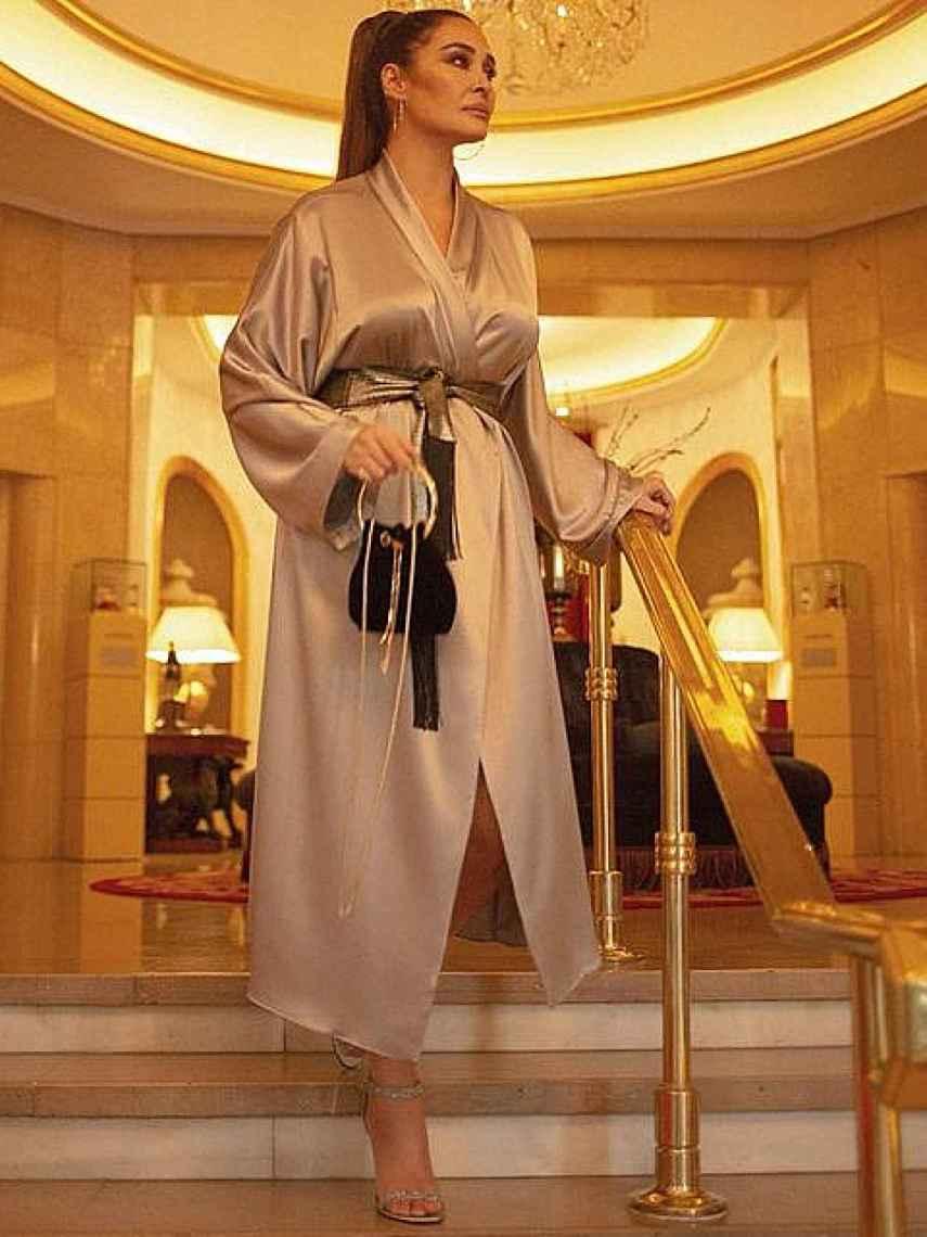 La diseñadora lanzó en noviembre su prenda fetiche: un kimono, firmado por Victoria.