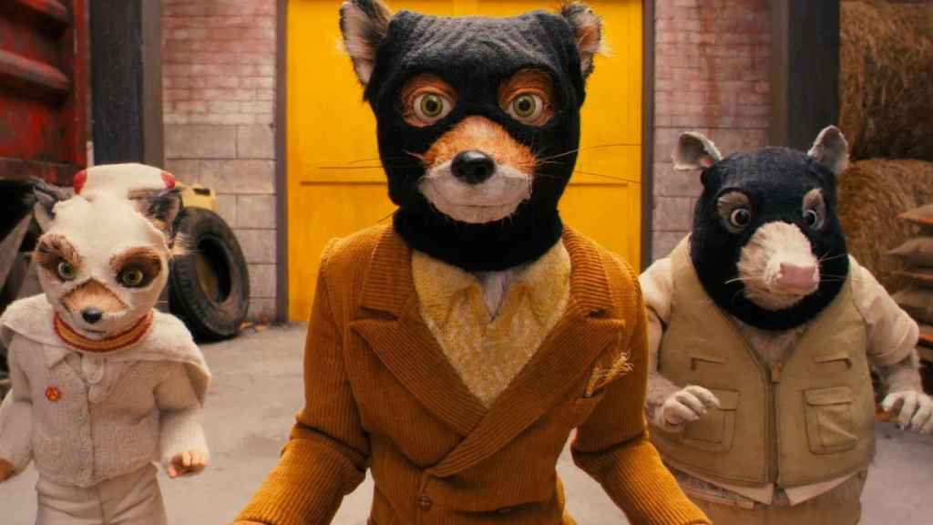 'Fantástico Sr. Fox'.