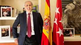 Enrique Ruiz-Escudero, consejero de Sanidad de Madrid.