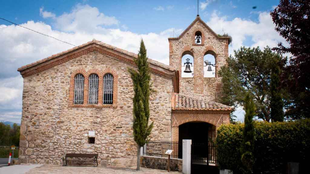 La ermita de San Mamés.