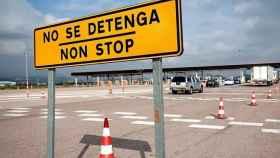 Día en el que se retiró el peaje de la AP7 a la altura de Valencia, en imagen de archivo.
