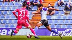 Abde, el jugador marroquí que está enamorando a Alicante.