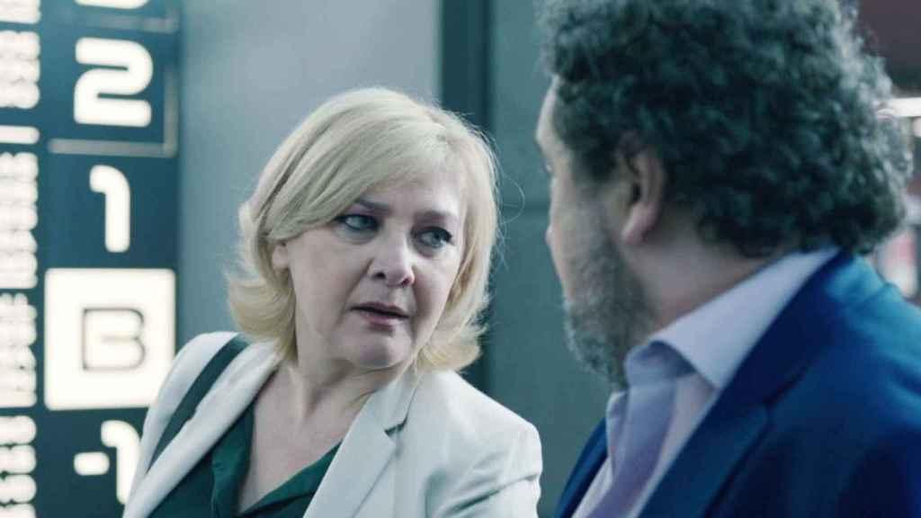 Amparo Larrañaga interpreta a Dolores Urbizu en la nueva temporada de 'Los hombres de Paco'.