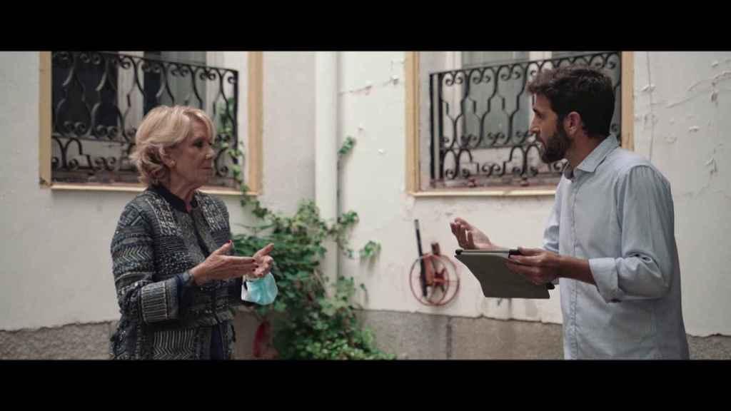El periodista confiesa que Esperanza Aguirre es quien peor se lo ha hecho pasar en una entrevista.