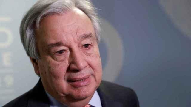 Fotografía de archivo del secretario general de la ONU, Antonio Guterres.