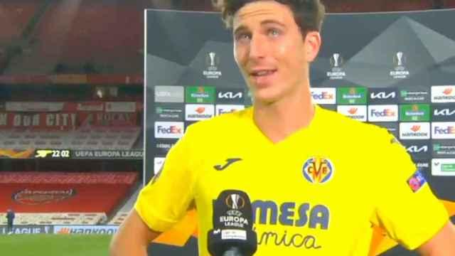 Pau Torres, tras el partido contra el Arsenal